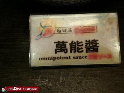 Omnipotent sauce