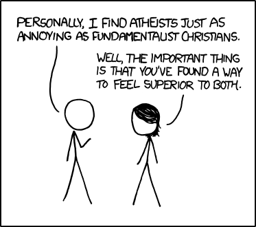 xkcd: Atheists
