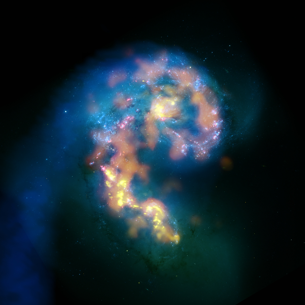 Large ALMA collision picture