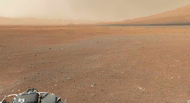 Curiosity Landing Site Panorama