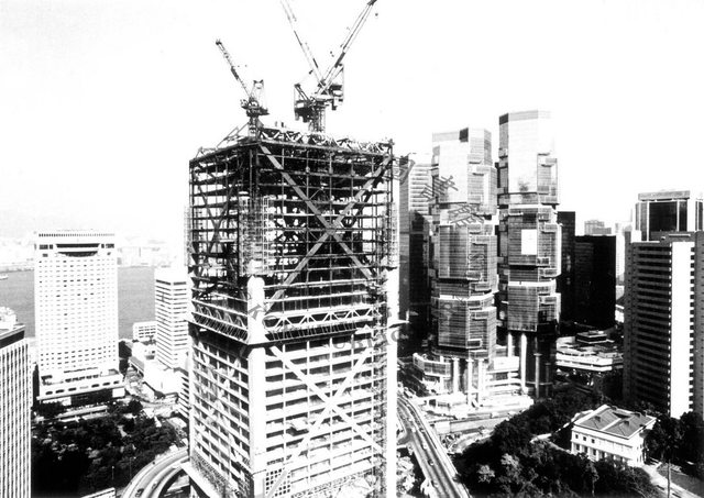 BoC tower under construction