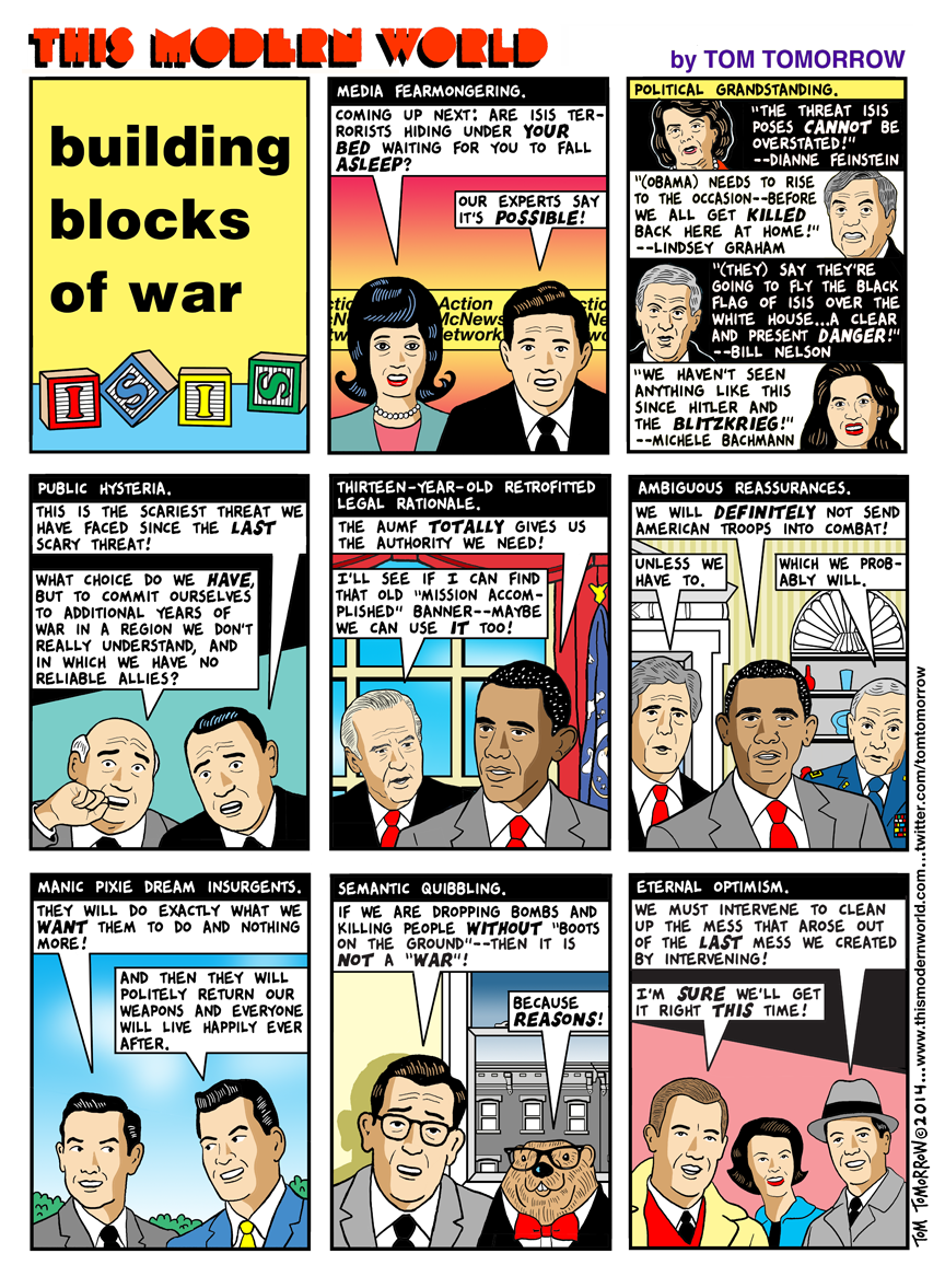 Tom Tomorrow War